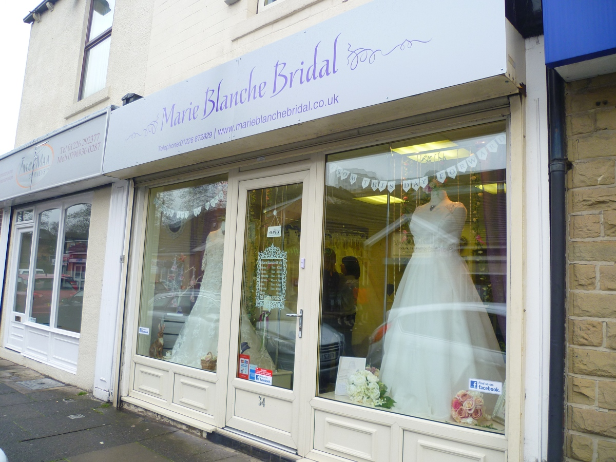 BFC Boutique Tour: Marie Blanche Bridal
